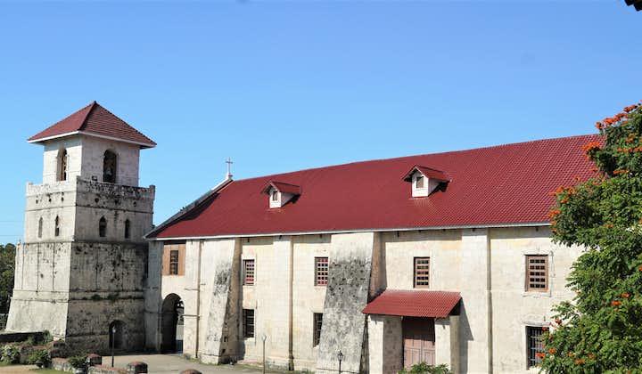 Facade of Baclayon Church in Bohol