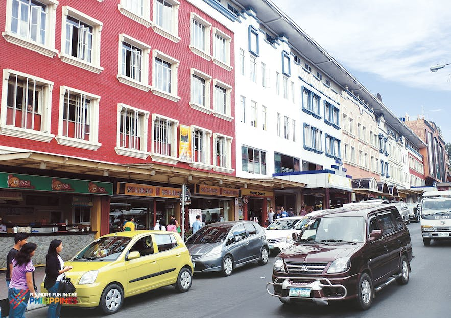 Famous Session Road in Baguio City