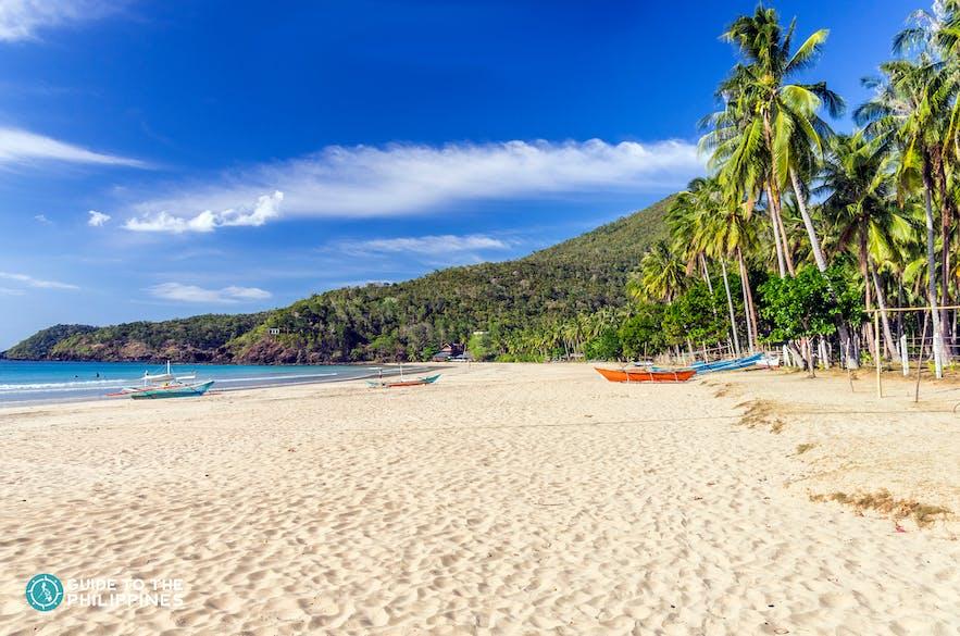 Nagtabon Beach in Puerto Princesa Palawan