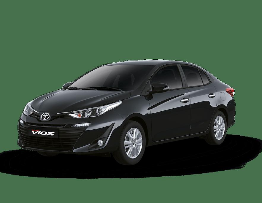 A Toyota Vios car