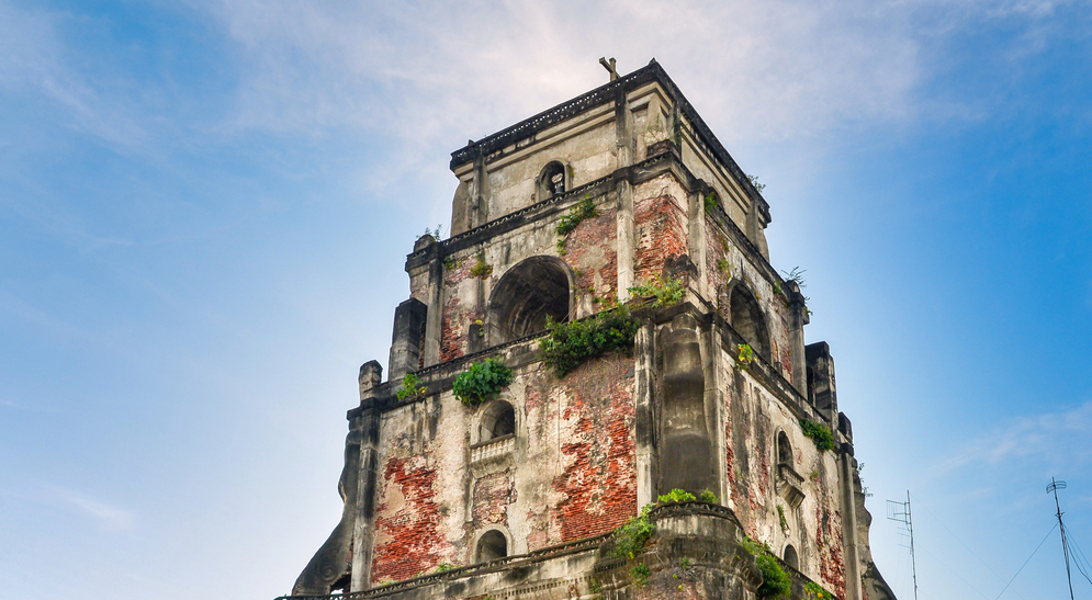 Sinking Bell Tower in Laoag
