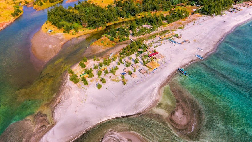 Aerial view of All Blue Nature Resort in Zambales