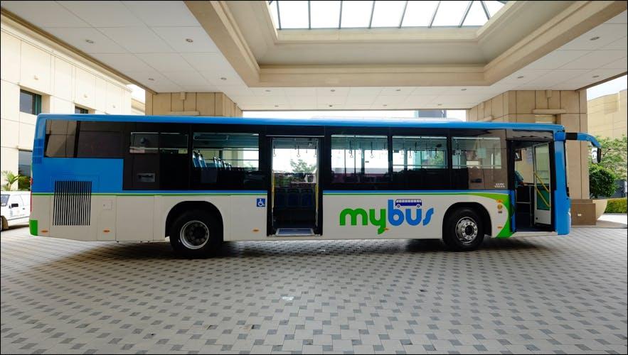 Shuttle of myBus in Cebu