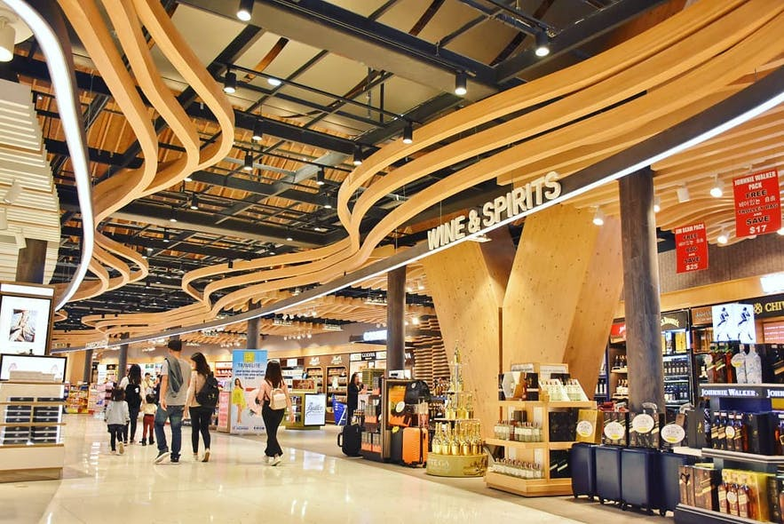 Shopping area in Mactan Cebu International Airport