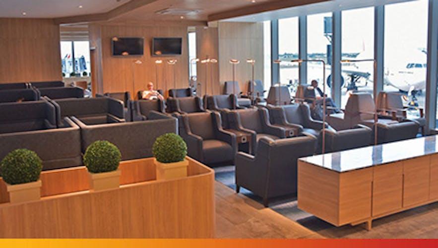 Lounge area in Mactan Airport