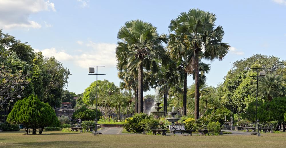 Field in Fort Santiago in Intramuros