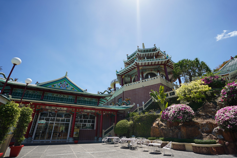 Open area at Taoist Temple in Cebu