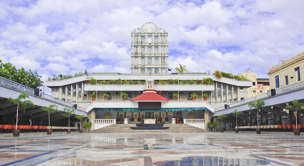 Facade of Basilica Minore Del Santo Nino in Cebu