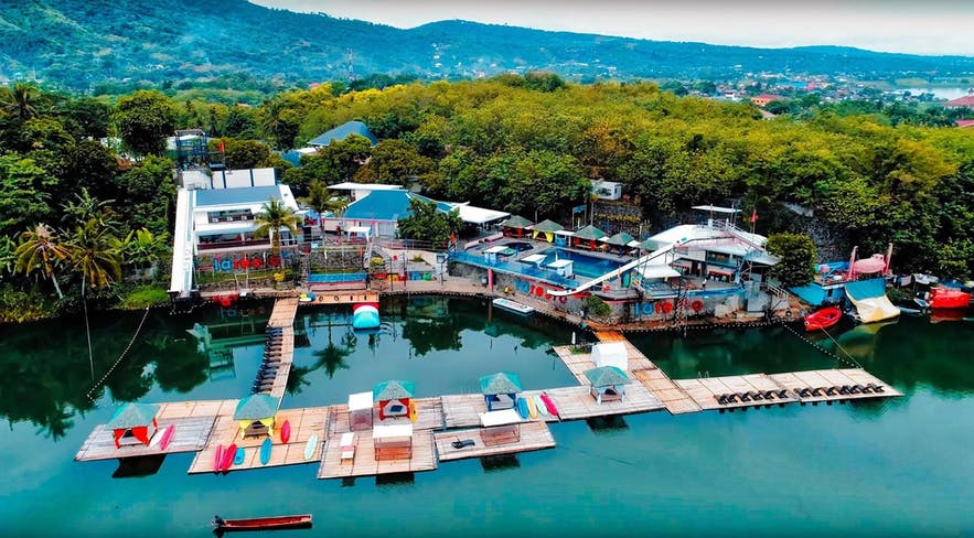 Aerial view of Laresio Lakeside Resort and Spa