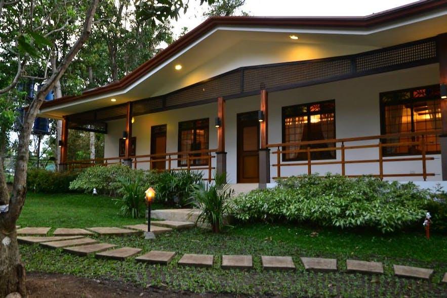 Facade of a villa in Hannah's Garden Resort and Events Place