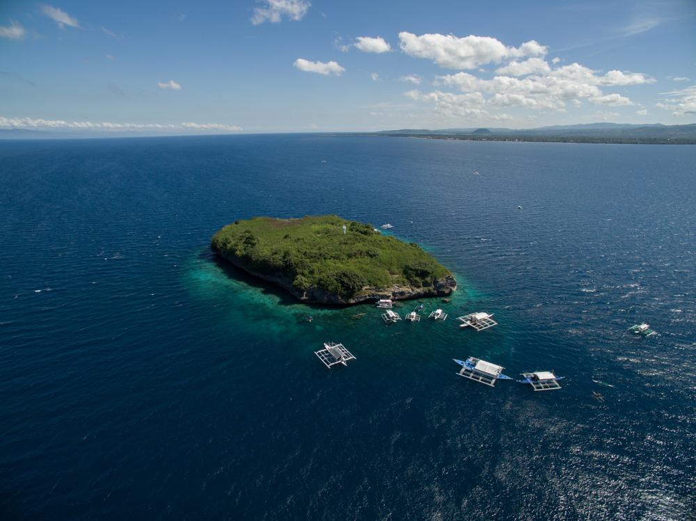 Pescador Island in Cebu