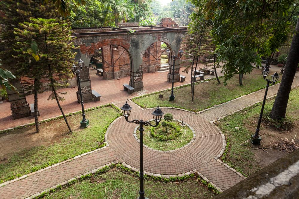 Inside Fort Santiago in Intramuros