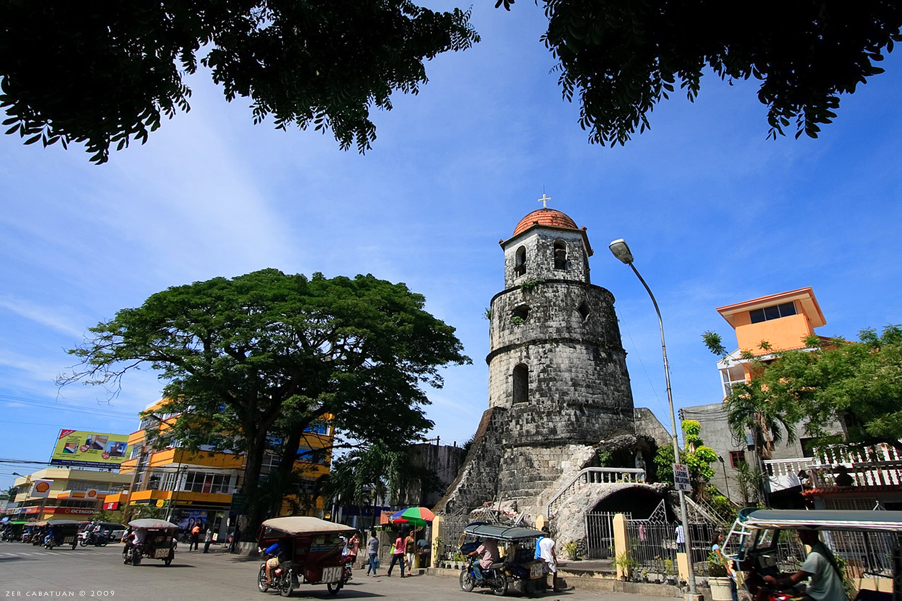View of the Belfry Tower in Dumaguete