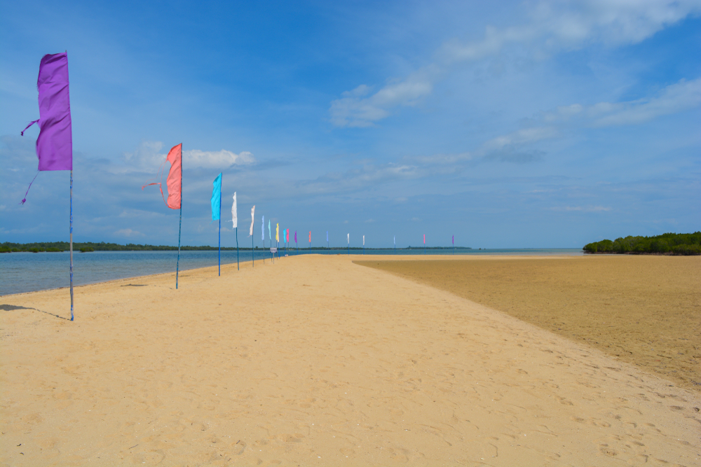 Beach in Luli Island, Palawan