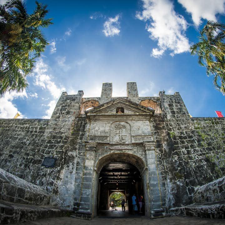 Facade of a monument in Cebu