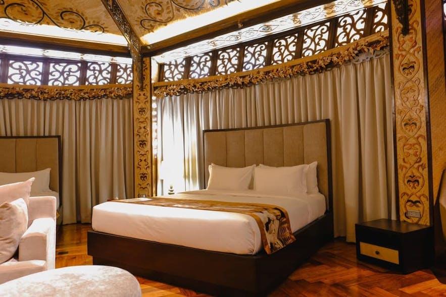 A bedroom in Rancho Bernardo Luxury Villas & Resort