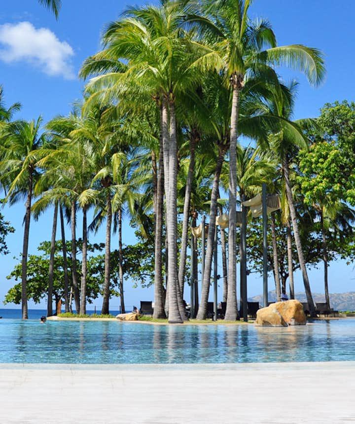 Beautiful resort facilities of Anvaya Cove Beach Club