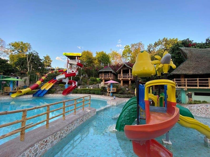 Pool slides in Antipolo Star Resort