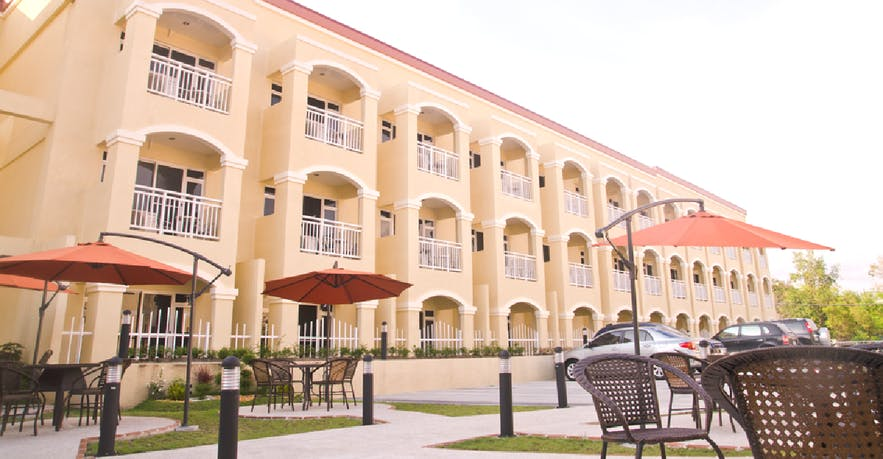 Facade of Subic Coco Hotel