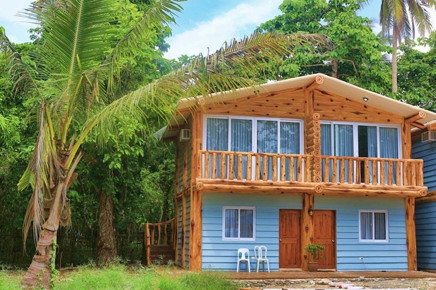 A villa in Aquazul Resort and Hotel
