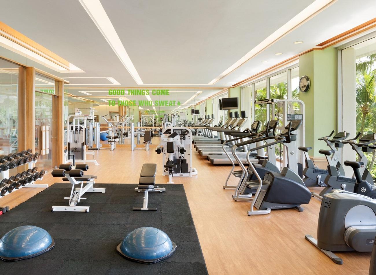 Health Club facilities of Shangri-La's Mactan
