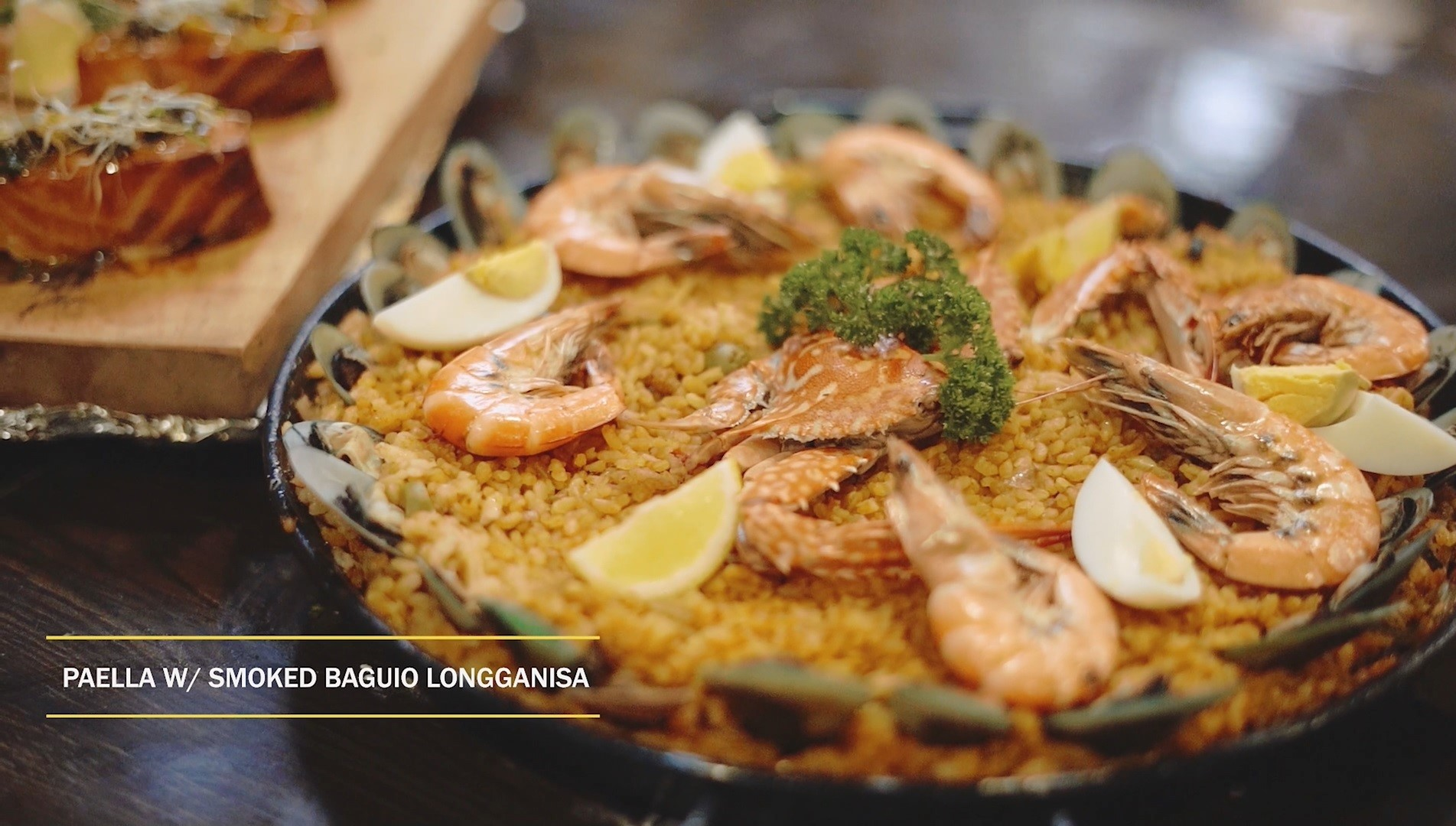 Paella served at Cocina Del Sol - part of the Culinary Tour