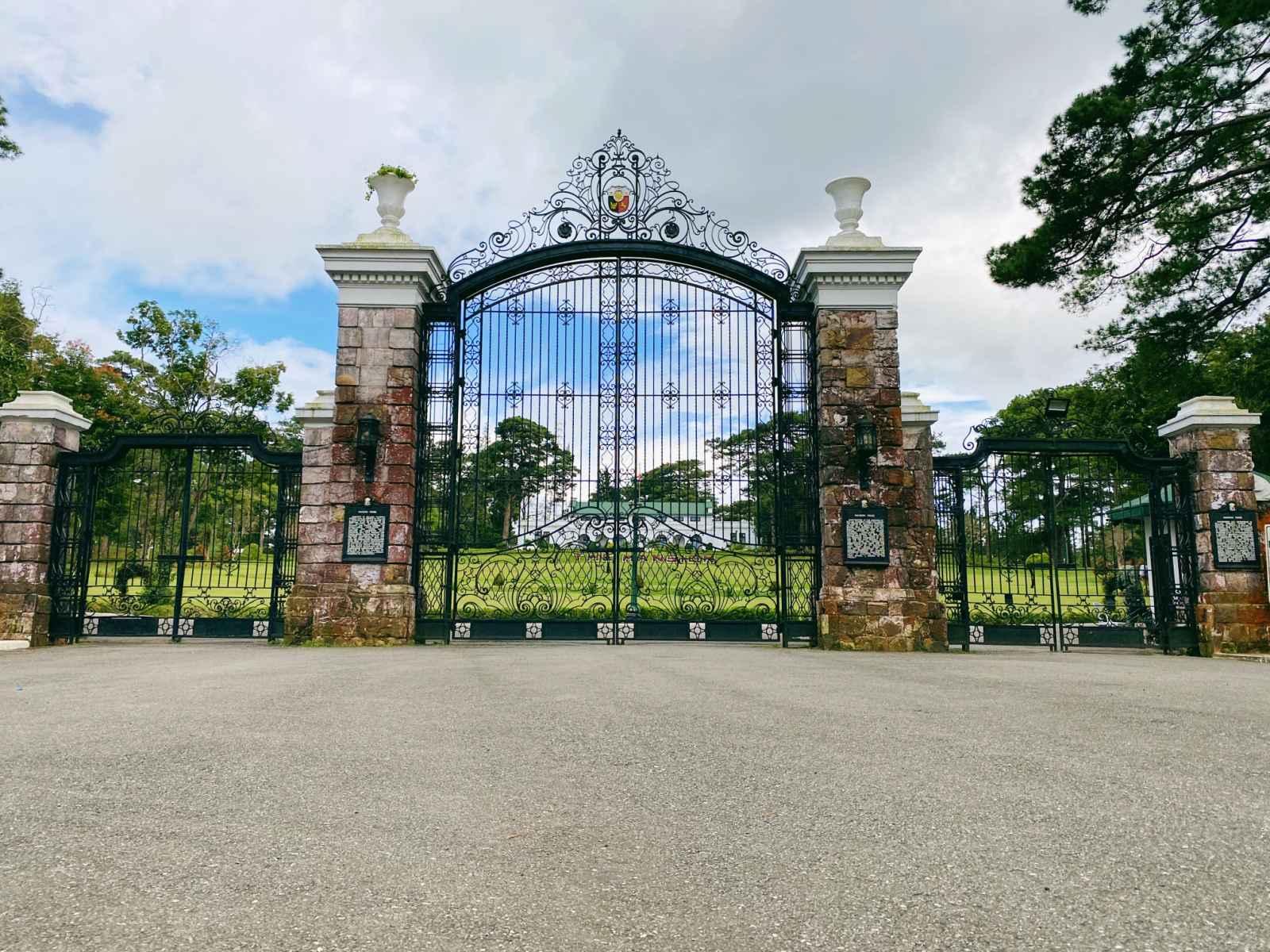 The Mansion entrance, part of Cultural & Heritage Tour