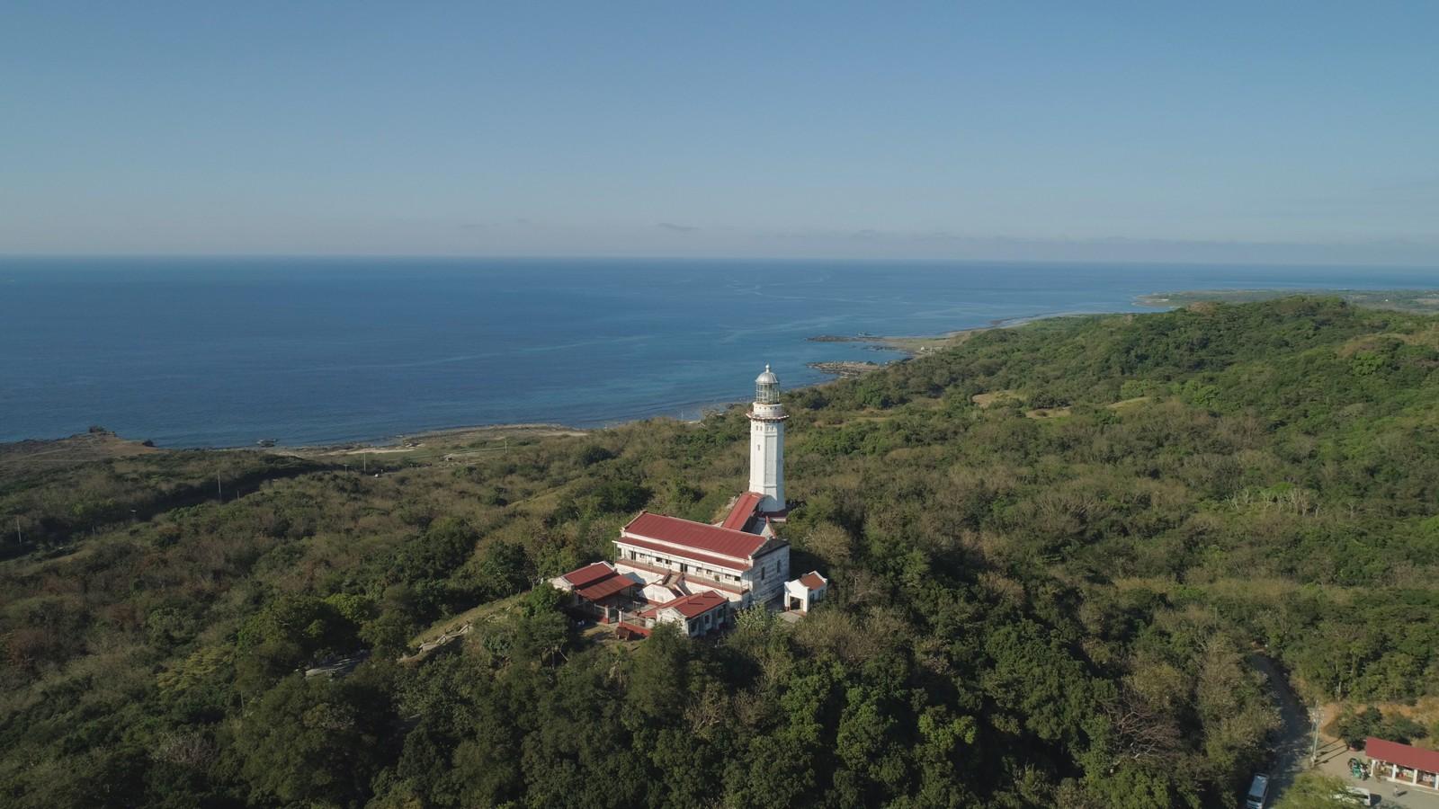 Cape Bojeador Lighthouse in Ilocos