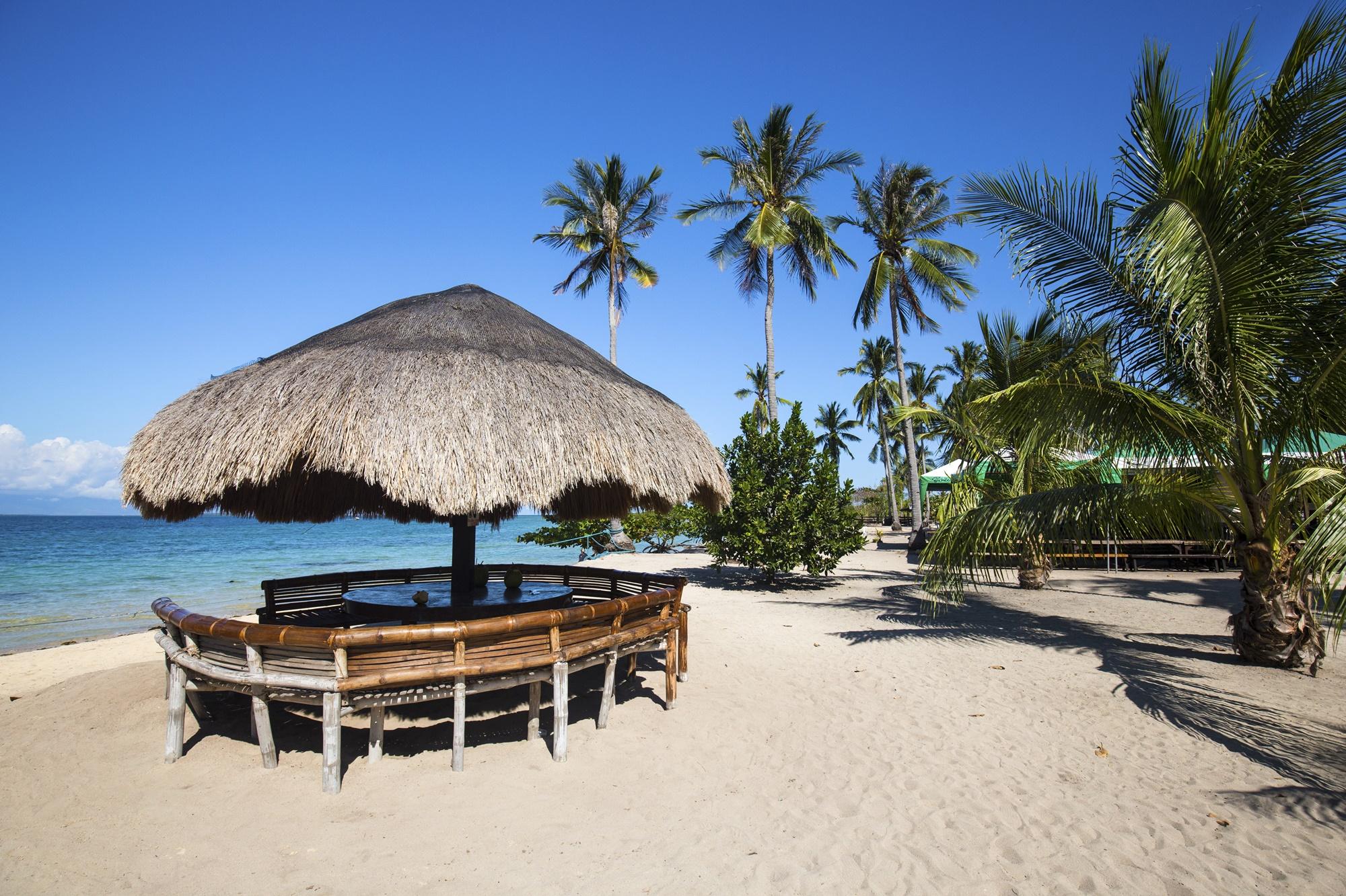 Cowrie Island in Palawan