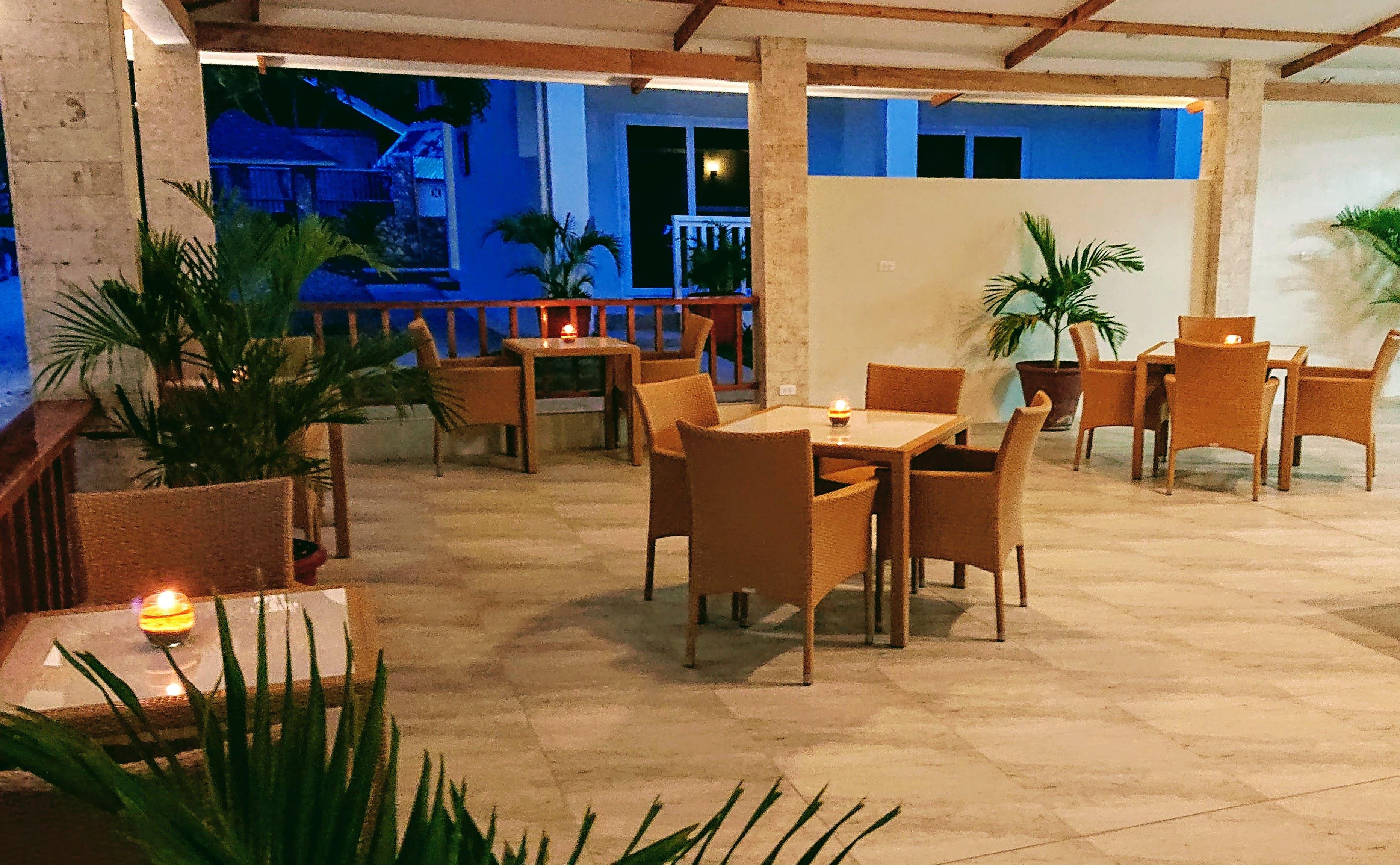 Beautiful restaurant at Cebu Seaview Dive Resort
