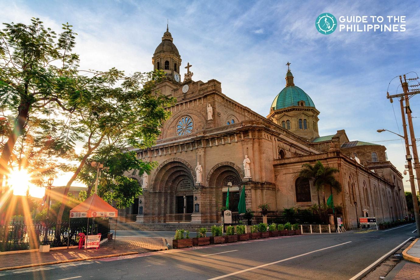 Manila Cathedral in Intramuros, Manila