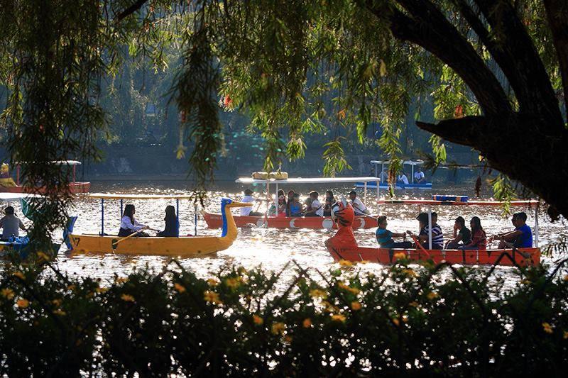 Popular view of Baguio Burnham Park