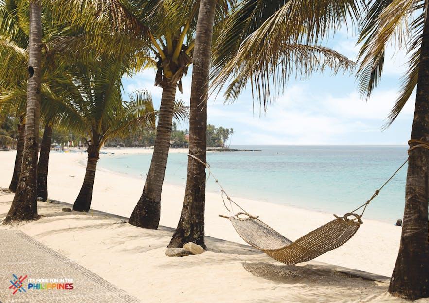 A hammock by Saud Beach in Pagudpud, Ilocos Norte