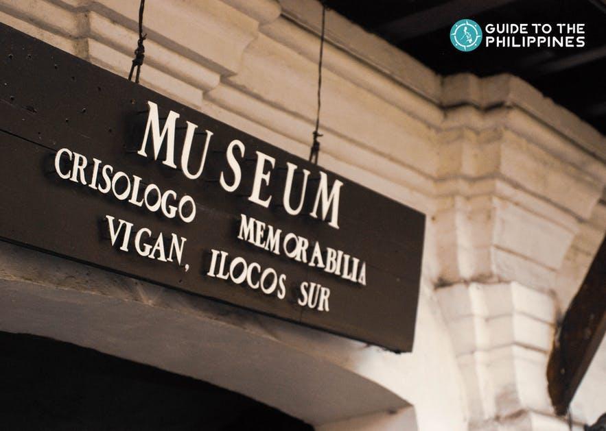 Crisologo Museum along A. Reyes Street in Vigan, Ilocos Sur