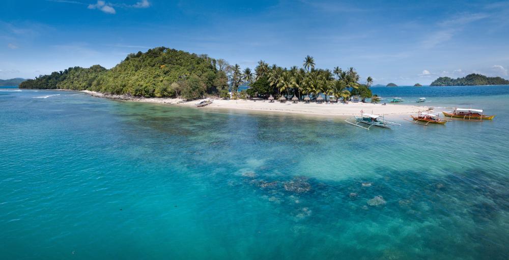 German Island in Port Barton Palawan