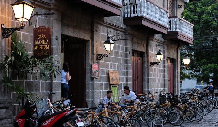 Bikes outside Casa Manila