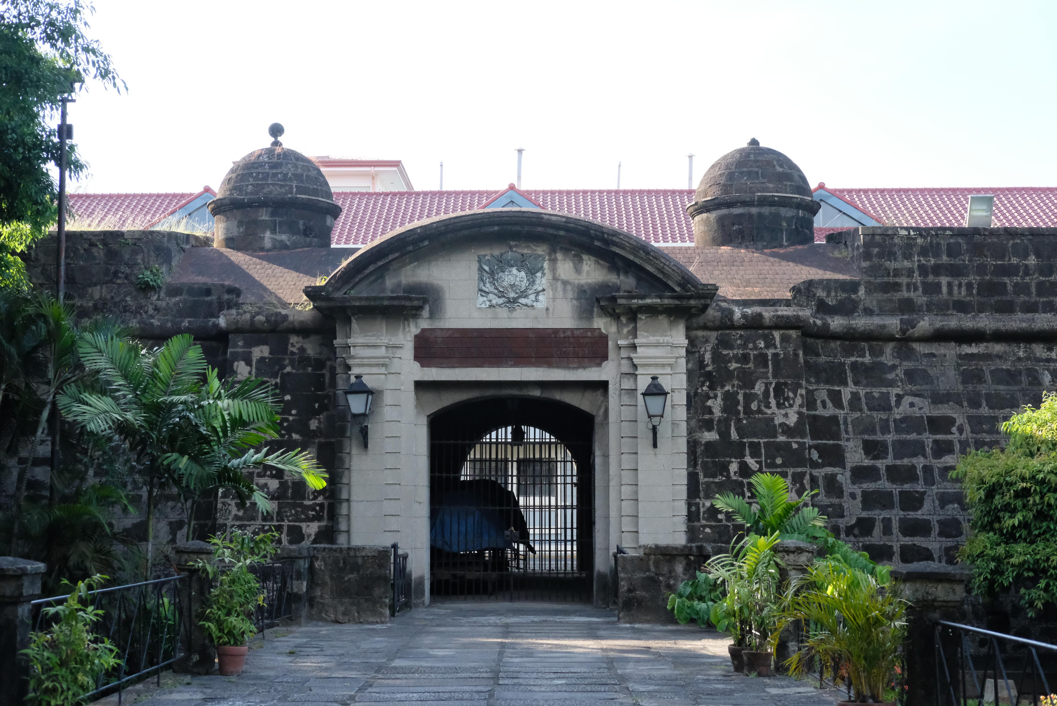 Gate inside Intramuros