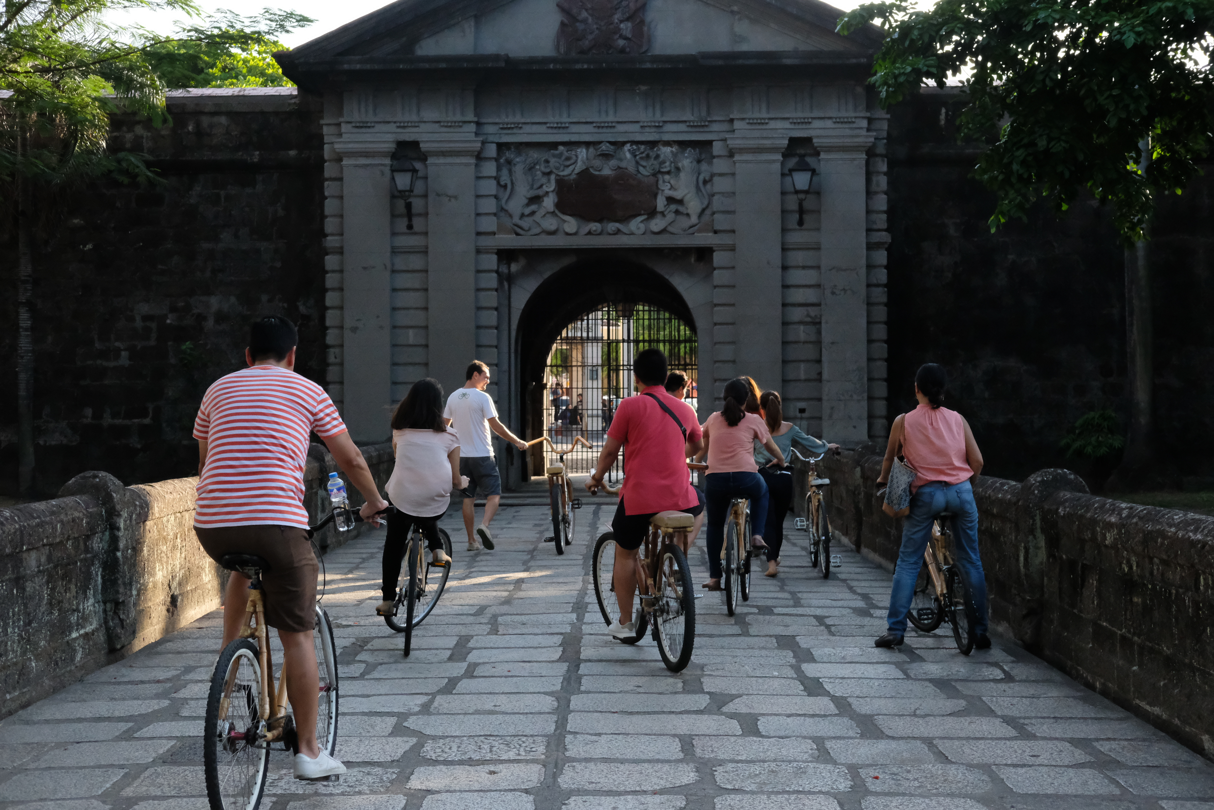 Bambike experience in Intramuros