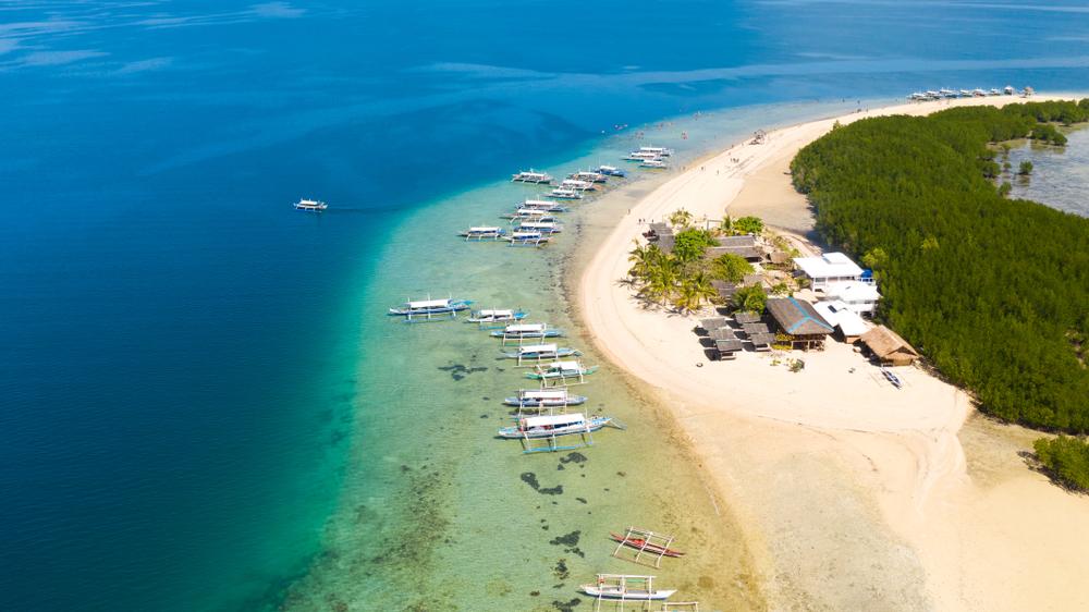 Starfish island in Puerto Princesa Palawan