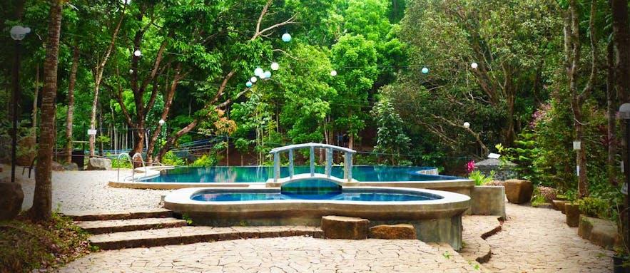 The pool area in Phillip_s Sanctuary, Antipolo