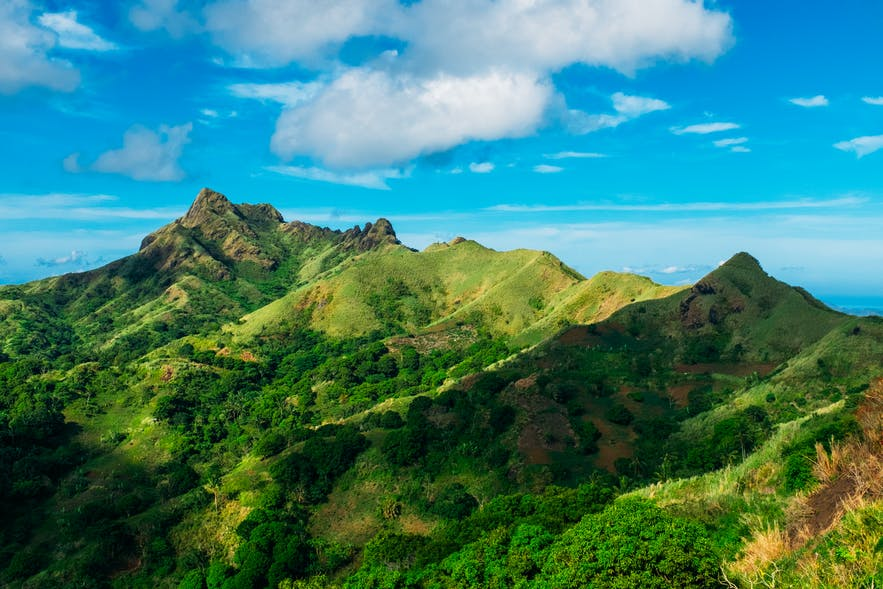 View of the ridges of Mt. Batulao, Batangas
