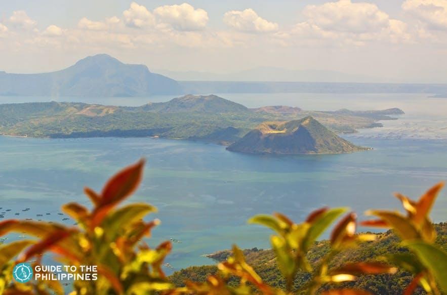 View of Taal Volcane in Taal Lake, Batangas