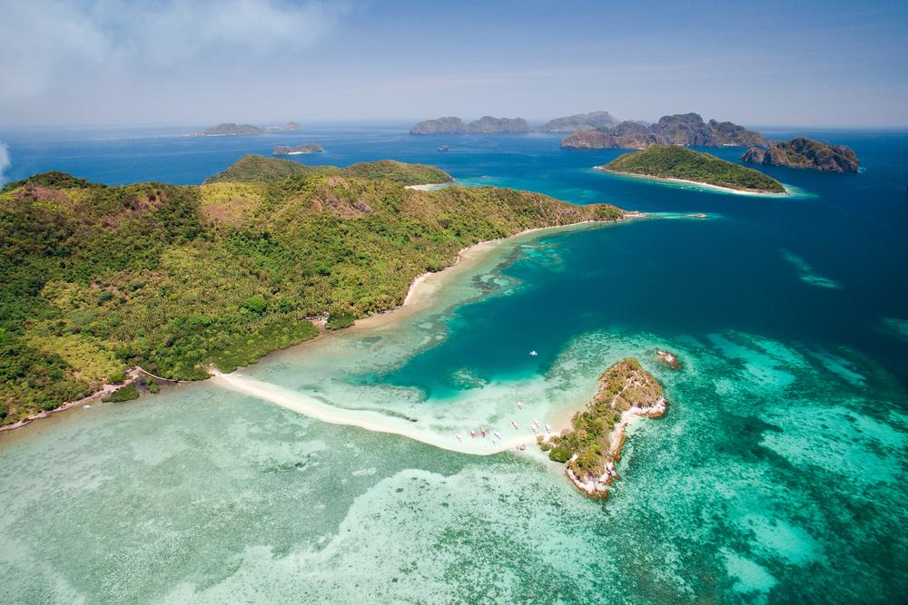 Snake Island in El Nido Palawan