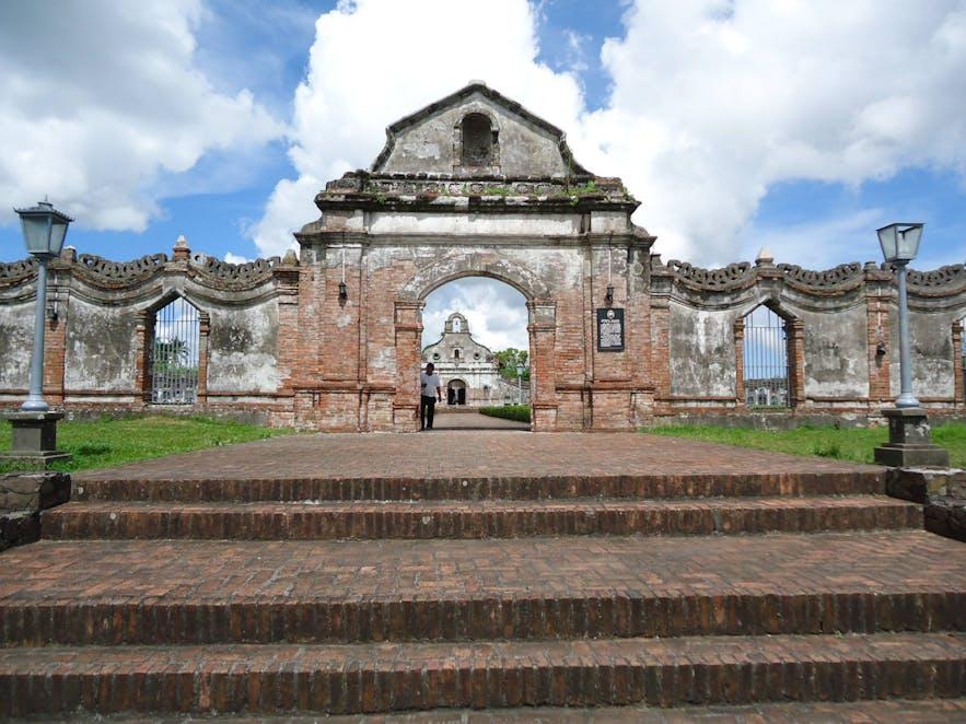 Entrance of Nagcarlan Underground Cemetery