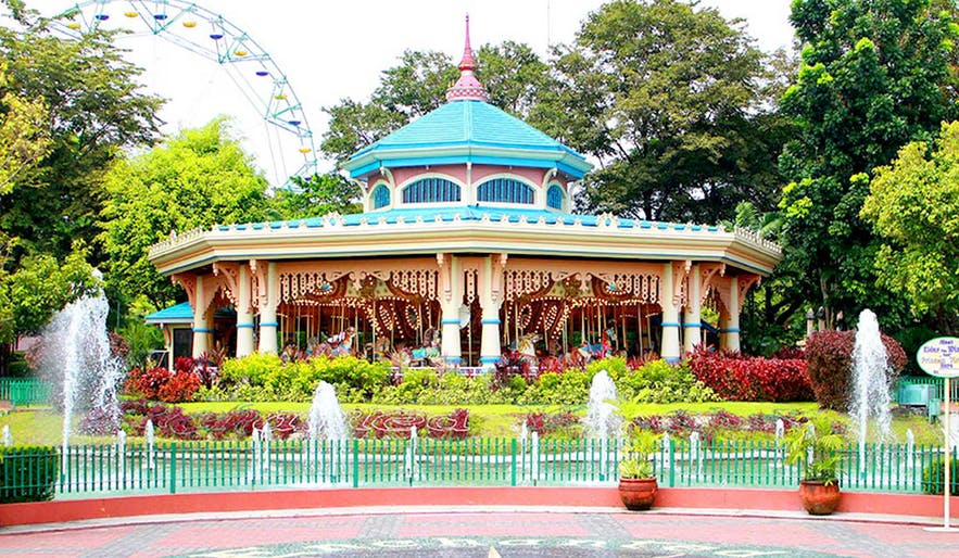 The Grand Carousel in Enchanted Kingdom