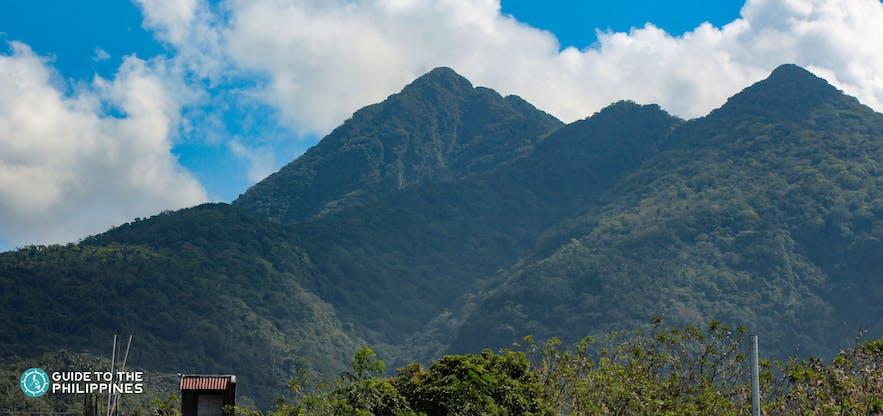 Ridges of Mount Makiling in Laguna