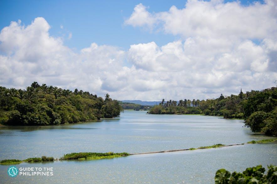 View of Caliraya Lake in Lumban, Laguna
