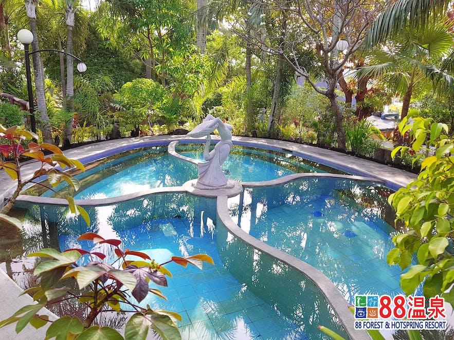 A hot spring pool in 88 Hotsprings Resort