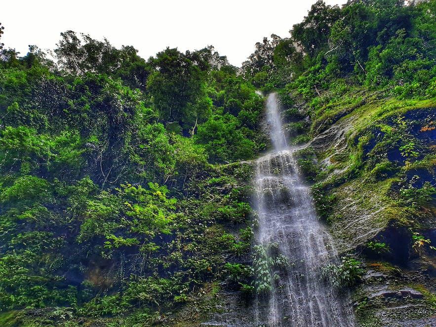 View of Pagsanjan falls in Laguna