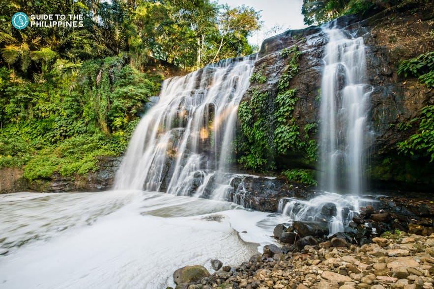 The waterfalls at Hinulugang Taktak, Rizal